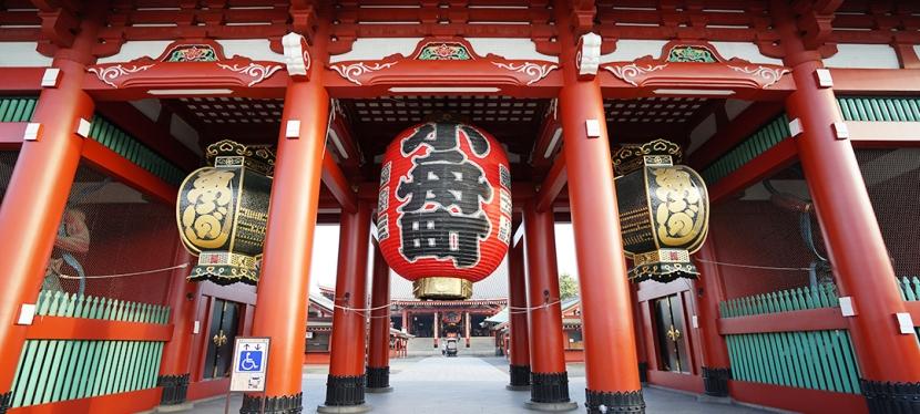 【東京景點】晨遊雷門淺草寺 發現寧靜的另一面